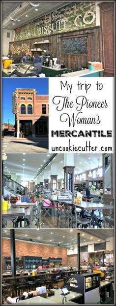 My recent visit to The Pioneer Woman Mercantile - UncookieCutter.com