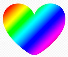 Love Png, Rainbow Heart, How To Remove, Graphics, Pictures, Free, Image, Photos, Graphic Design