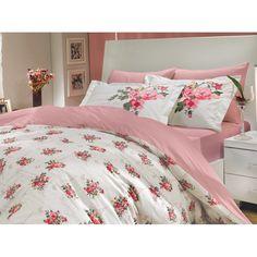 Dose Of Modern Paris Spring - Pink Poplin Single Quilt Cover Set - Pink Fuchsia Salmon Green White Decor Interior Design, Interior Decorating, Single Quilt, Bedclothes, Quilt Cover Sets, Poplin, Duvet Covers, Blanket, Furniture