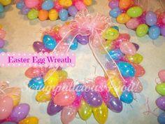 ......Scrumptilicious 4 You: Easter Egg Wreath DIY