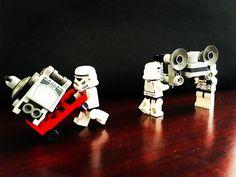 Coming in for repairs  #brickbybrick #lego #legos #legophotography #legography #legoinstagram #legostagram #legogram #instalego #legomania #legominifigures #legominifigs #legoworld #legoland #minifigures #bricknetwork #brickcentral #brickshift #brickpichub #toyphotography #toys #toystagram #plastic #stuckinplastic #afol #legostarwars #starwars #stormtrooper #atst #repairs by brick_x_brick