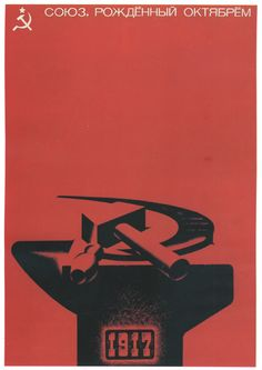 Afiche soviético