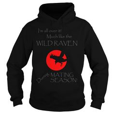 (New Tshirt Produce) The WILD RAVEN HOODIE more colors [TShirt 2016] Hoodies, Funny Tee Shirts