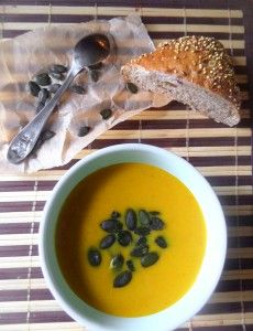 Pumpkin Ginger Soup | Where Is My Spoon - great