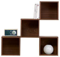 http://www.houzz.com/photos/5235329/Wall-Cabinet-Walnut-Veneer-transitional-display-and-wall-shelves - Pesquisa Google