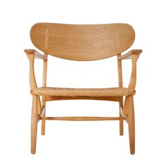 CH-22 Easy Chair by Hans Wegner | From a unique collection of antique and modern lounge chairs at http://www.1stdibs.com/furniture/seating/lounge-chairs/