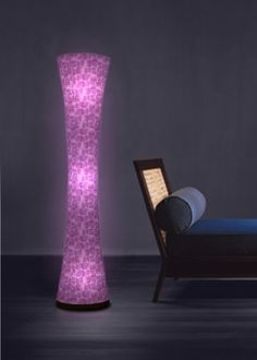 Purple Floor Lamps Photos