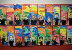 The Scream - Edvard Munch Camping Art, Art, Halloween Art Lessons, Autumn Art, Halloween Art