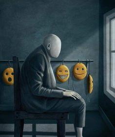 Sad Art Lonely Thoughts 27 Best Ideas - New Pin Arte Horror, Horror Art, Sad Paintings, Deep Art, Arte Obscura, Sad Art, Lowbrow Art, Dark Fantasy Art, Psychedelic Art