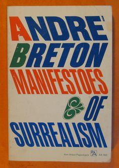 Manifestoes of Surrealism by Andre Breton by Pistilbooks on Etsy