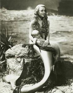 Mermaid with Merbaby
