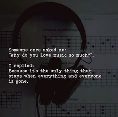 Someone once asked me why do you love music so much? via (https://ift.tt/2sATlRR)