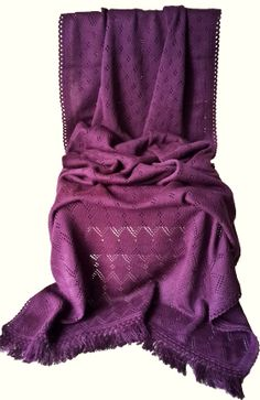 Warm Purple woolen stole Material: Soft Wool Code: ST-003 Price: Rs. 999/- Shop at https://www.facebook.com/KuckoosNest