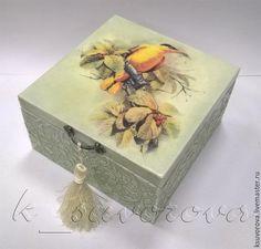 """Купить шкатулка """"Иволга"""" - комбинированный, шкатулка, шкатулка деревянная, шкатулка для хранения, шкатулка ручной работы"""