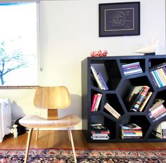 A glimpse into our living room from light and space photography.
