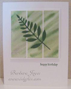 Gentle Leaf by bejoyce - Cards and Paper Crafts at Splitcoaststampers