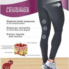 Mar Plaza Bazaar Anti-celullitis leggings anticelulite #celulite #fitness #body #legs #black