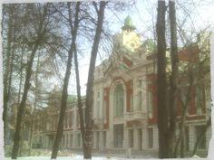 Историческое здание в Новосибирске.