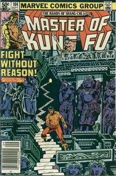 Master of Kung Fu # 104 by Gene Day