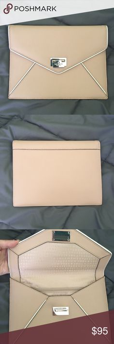 Kate Spade Envelope Clutch Authentic, brand new, offers welcome! kate spade Bags Clutches & Wristlets