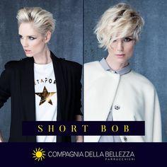 ¡Versatilidad!   El short bob te permite elegir cada día entre diferentes estilos.   Tu look en Salones Compagnia della Bellezza.   Busca tu salón más cercano👉http://bit.ly/SalonesCDB   #compagniadellabellezzaespaña
