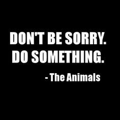 Come on society! We need to take a stand for the voiceless creatures of our world, by going against abuse and captivity!