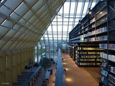 MVRDV, Book Mountain, Spijkenisse