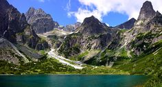 Rohace - Mountain Range in Tatra Mountains Tatra Mountains, Heart Of Europe, Natural Forms, Mountain Range, The Good Place, Waterfall, National Parks, Castle, Urban