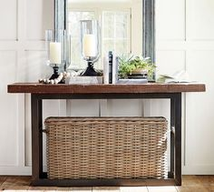 Beau Griffin Reclaimed Wood Console Table