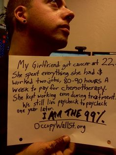 We are the 99% #occupywallstreet