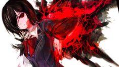 Tokyo Ghoul Anime Touka Kirishima Kagune Girl High Resolution ...