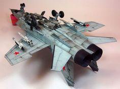 AMK 1/48 MiG-31 BM/MSM by Ron Petrosky: Image