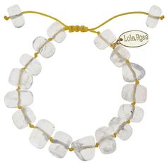 Buy Lola Rose Fern Rock Crystal Neon Cord Bracelet Online at johnlewis.com