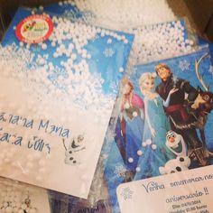 Convite Frozen Neve