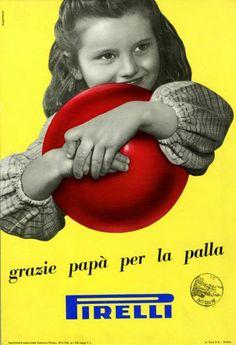 Pubblicità di palle da gioco Pavel Michael Engelmann 1952