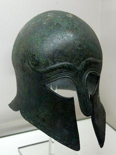 Ancient Greek Corinthian Type Helmet