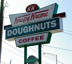 HOT NOW  the old Krispy Kreme sign on 15th Street in Tuscaloosa, pre 4.27.11