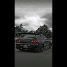 Nissan Skyline GTR R34 Black