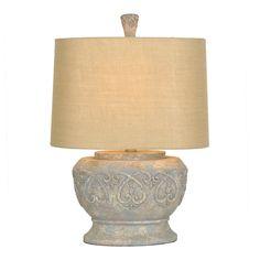 Stone Scroll Table Lamp | Kirklands