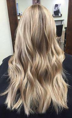Attractive Blonde Hair Color Ideas For Women Looks More Pretty Blonde hair models – Hair Models-Hair Styles Blonde Hair Looks, Blonde Hair With Highlights, Balayage Hair Blonde, Brown Blonde Hair, Neutral Blonde Hair, Blonde Honey, Honey Balayage, Sandy Blonde, Medium Blonde