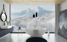 view from bathroom | VIZN studio