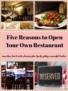 5 Key Traits of a Great Restaurant Owner Five good reasons that you would make a good restaurant owner. Patience, business sense and good communication skills are just a few traits that you should have Restaurant Trends, Small Restaurant Design, Restaurant Owner, Pizza Restaurant, Starting A Restaurant, Opening A Restaurant, Catering Business, Bakery Business, Family Business