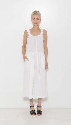 Rachel Comey Costello Suit in White | The Dreslyn