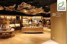 Eslite bookstore at Hysan Place, Hong Kong store design Bookstore Design, Library Design, Modern Library, Hong Kong, Shop Interior Design, Retail Design, Visual Merchandising, Retail Shelving, Diy Room Divider