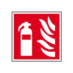 Fire Extinguisher Symbol Only Sign
