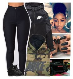 """Contest"" by issaxmonea ❤ liked on Polyvore featuring NIKE"