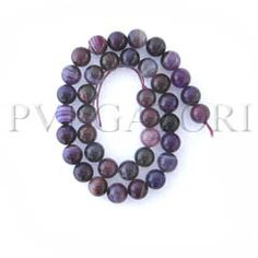 BEADS DYED AGATE BE6331