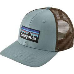 57e6e3e2445ba Patagonia - P6 Trucker Hat - Cadet Blue Patagonia Outfit
