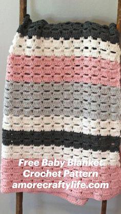 Baby Quilt Patterns, Afghan Patterns, Crochet Blanket Patterns, Sewing Patterns Free, Free Sewing, Crochet Stitches, Crochet Quilt, Crochet Blankets, Baby Blanket Crochet