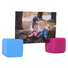 Polaroid 6 Colorful Cubic Photo Stands for Zink 2x3 Photo Paper Snap Zip Z2300 POP >>> You can find out more details at the link of the image. (This is an affiliate link) #PolaroidCamera